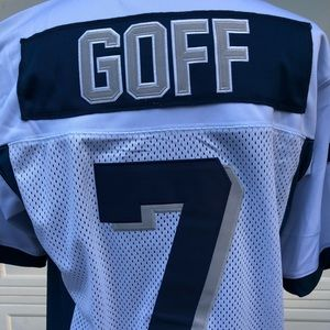 Jared Goff Marin Catholic HS Jersey NWT Large